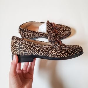 NWOT PAUL SMITH WOMEN'S ANIMAL  PRINT LOAFERS